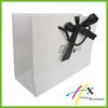 White Shopping Paper Bag Custom Logo Printed Luxury Paper Shopping Bag