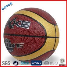 Official size high grade pvc custom made basketballs for training