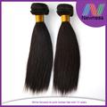5a trama dupla cor natural pode ser corante extraído dobro completo extremidades barato ponytail extensão do cabelo para mulheres negras