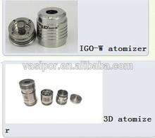 2014 RDA igo-w3 With 510 Stainless Steel Drip Tip igo w3 atomizer clone
