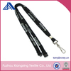High Quality Personalized Polyester Tubular Lanyard Black Screen Printing For Staff