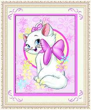 yiwu kaina fábrica fornecedor 3d retrato dos desenhos animados para crianças de diamante de cristal pintura