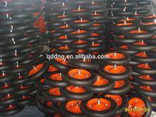 13 inch rubber wheel for wheelbarrow / 350-8 wheelbarrow tyre / tire and tube for wheelbarrow