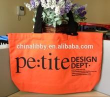Colored fabric Fashion design cotton shoulder bag