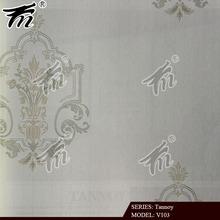 2014 leaf pattern nonwoven interior wallpaper catalogue