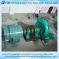 Chine personnaliser Mini Turbine à eau / générateur à Turbine à eau ensemble