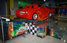 mini car--amusement kiddie ride game machine