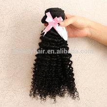 6A grade 100% Raw Natural black wholesale virgin malaysian curly hair