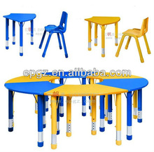 2014 high quality modern unexpensive children kids juvenile table chair, kids mushroom table and chairs nz