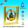 Unique design big square metal clock, antique table clock, China supplier