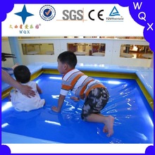 2014 WQX indoor soft amusement park kids water bed price