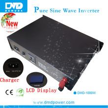 High efficiency best converter frequency invertor 1kw pure sine wave battery inverter generator solar panel inverter
