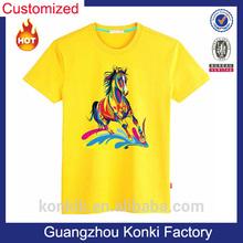 Short sleeve OEM factory organic boys t shirt