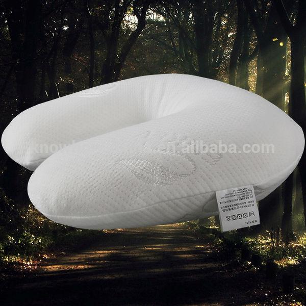 nackenst tze latex schaum kissen f r flugzeug bus zug. Black Bedroom Furniture Sets. Home Design Ideas