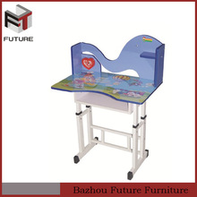 Modern hot sale adjustable height kids study table chair furniture