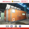 Extendable house container with hydraulic system