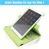 Classic Simple Lichi 360 Degree Rotation PU/Leather Pad Cover Case For iPad5 U1705-143