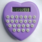 8 digits heart shaped, lovely calculator for promotion gifts/ HLD-831