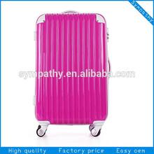 ABS wheeled travelling suit case bag set/ traveller bag