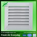 fijo de climatización de aire tipo rejilla de aluminio de plástico ajustable de aire rejilla de suministro