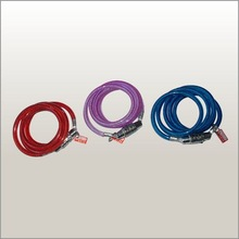 colorful 80cm 120cm steel 4 letters combination code Cable bike or bicycle lock
