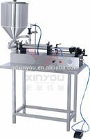 DGJ-II 250-2500ml Horizontal Type Pneumatic Paste & Liquid Filling Machine