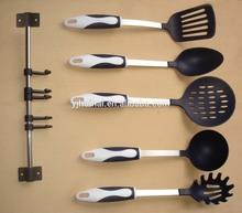 5pcs Good Design/Non-stick Nylon Kitchenware Set With Holder