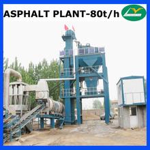 80TPH asphalt road making equipment