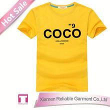 Custom t shirt production cost 1 dollar/ cheap t-shirt