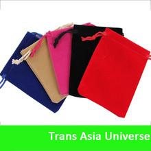 Hot Sell Custom Drawstring Velvet Bags for gifts packing