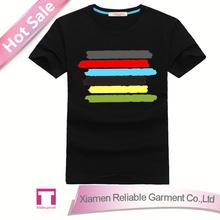 100% cotton t shirt custom/ personalized t shirts 100% wholesale hemp clothing