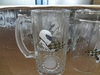 2014 Haonai glass products,clear glass beer steins