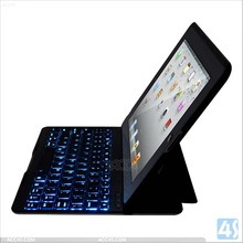 Backlight Bluetooth Keyboard Leather Case for iPad 2 3 4 P-iPAD234CASE092