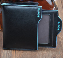 top brand embroidered card leather wallets and pures