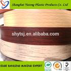 3mm pvc edge banding good quality wood grain