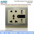 usb power plug wall with night light for ipad charging