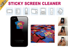 Brand logo mobile phone screen sticky cleaner