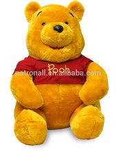 Selling good in Brasil market/ Soft stuffed Winnie Bear/ cute birthday gift/valentine present