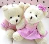 Sold well in Brasil market/ Soft stuffed coupled teddy Bear / cute birthday gift/valentine present