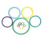 Silicone rubber seal O rings glass jar ring seal