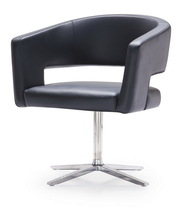 commercial office chairs singapore with Stainless Steel Feet