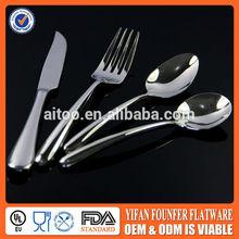 spoon, fork, knife,stainless steel flatware ,kitchen cutlery