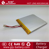 China factory wholsale high quality 3.7V Li-ion Polymer Battery 3000mAh 337090 with protection and wire