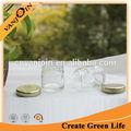 1.5 oz verre clair petit pots de confiture