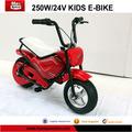 250w, 24v elektrikli çocuklar için motosiklet