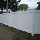 cheap Vinyl plastic yard guard fencing