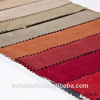 the Newest Styles suede bonded faux fur fabrics with Top Quality