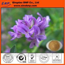 Bnp 100% suministro natural superior de alta calidad de la alfalfa extracto de polvo de la clorofila