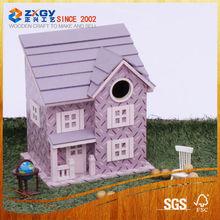 Home Decoration Wooden Bird House
