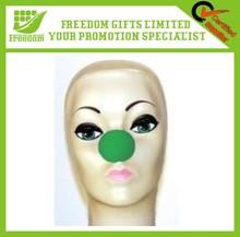 5 cm Promotional Party Hot Sale Green Foam Clown Nose
